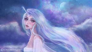 <b>Unicorn Girl</b><br><i>ARiA-Illustration</i>