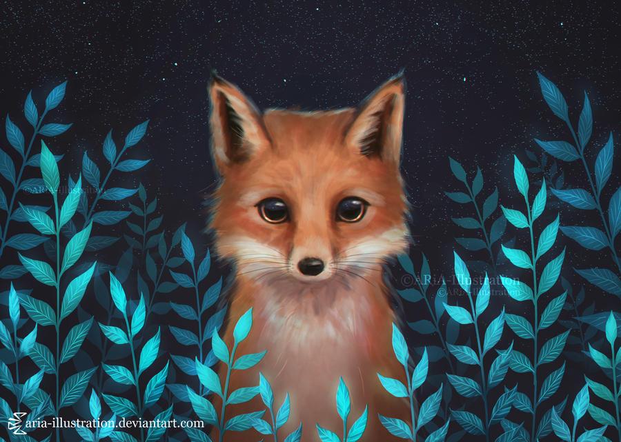 Fox by ARiA-Illustration