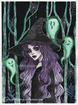 Wicked witch- Day 25 Inktober18