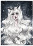 Arctic Fox girl