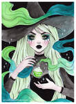 Toxic potion witch