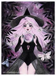 Magic moon witch