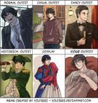 Gevanni Outfit Meme by cloverinblue