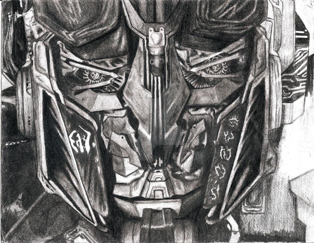 Optimus Prime Smile WIP 8 by ImtheArbiter