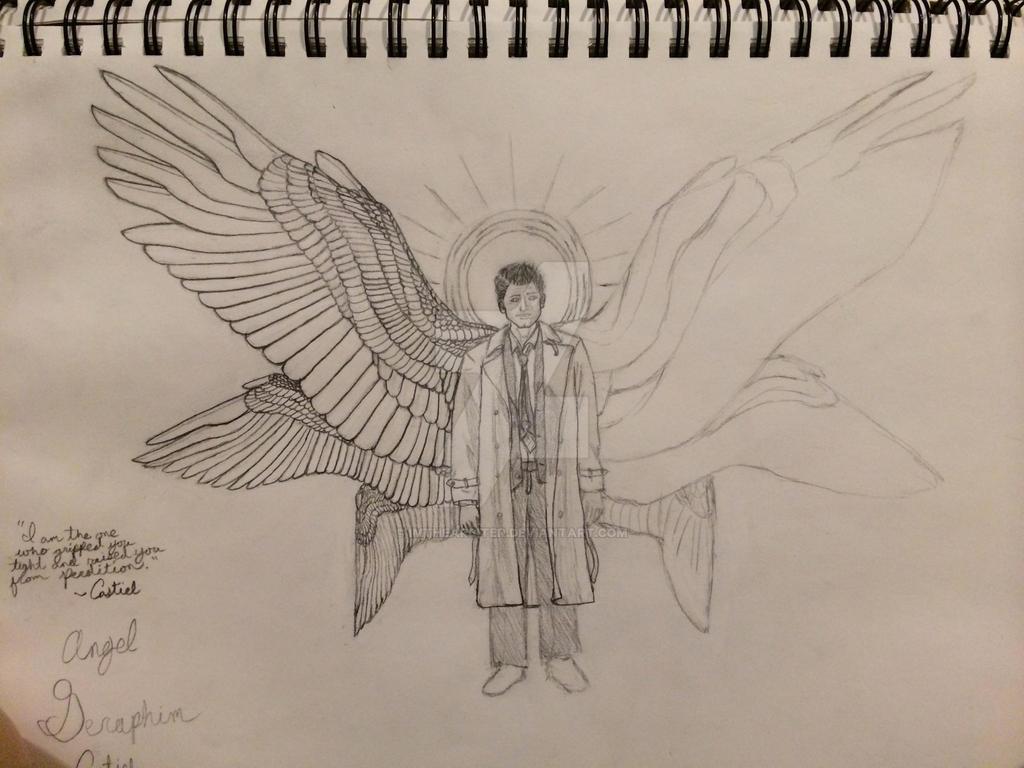 Castiel - Supernatural by ImtheArbiter