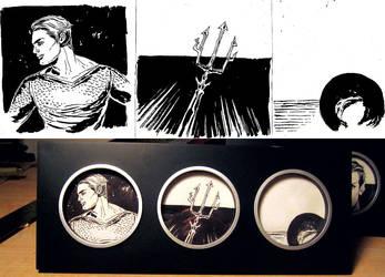 Aquaman Triptych