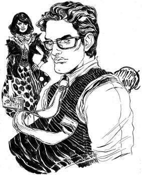 Clark and Lois Pinup