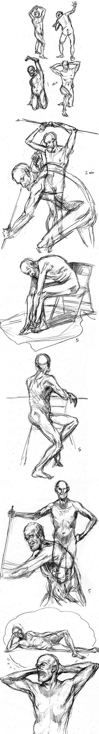 Life Drawing by mysteryming