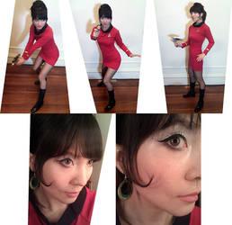 Star Trek: TOS - 'Red Dress' by mysteryming
