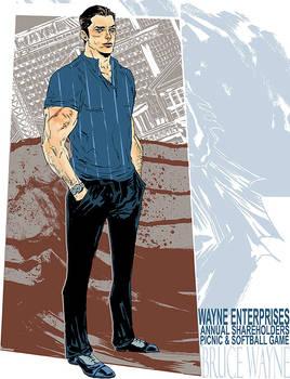 Bruce Wayne: On a Day Off