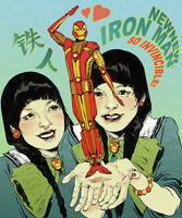 New New Iron Man by mysteryming