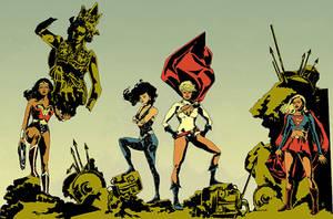 DC Women by mysteryming