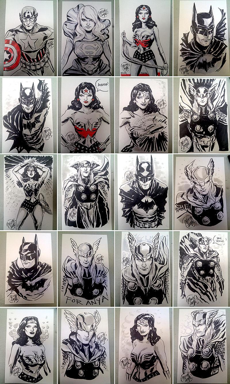 FCBD 2011 Sketches