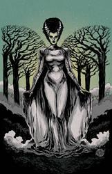 Bride of Frankenstein by mysteryming