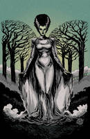 Bride of Frankenstein by mysteryming
