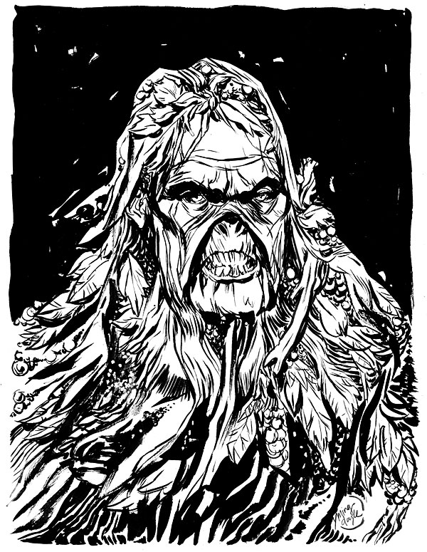 Swamp Thing by mysteryming