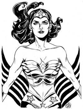 HeroesCon '12 pre-commission: Wonder Woman