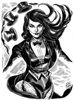 HeroesCon '12 pre-commission: Zatanna!