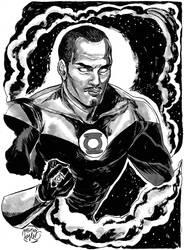 HeroesCon '12 pre-commission: John Stewart by mysteryming