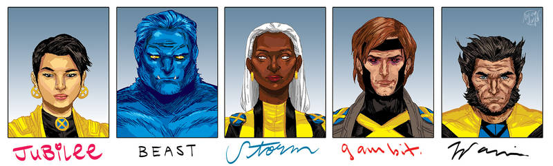 5 Favorite X-Men
