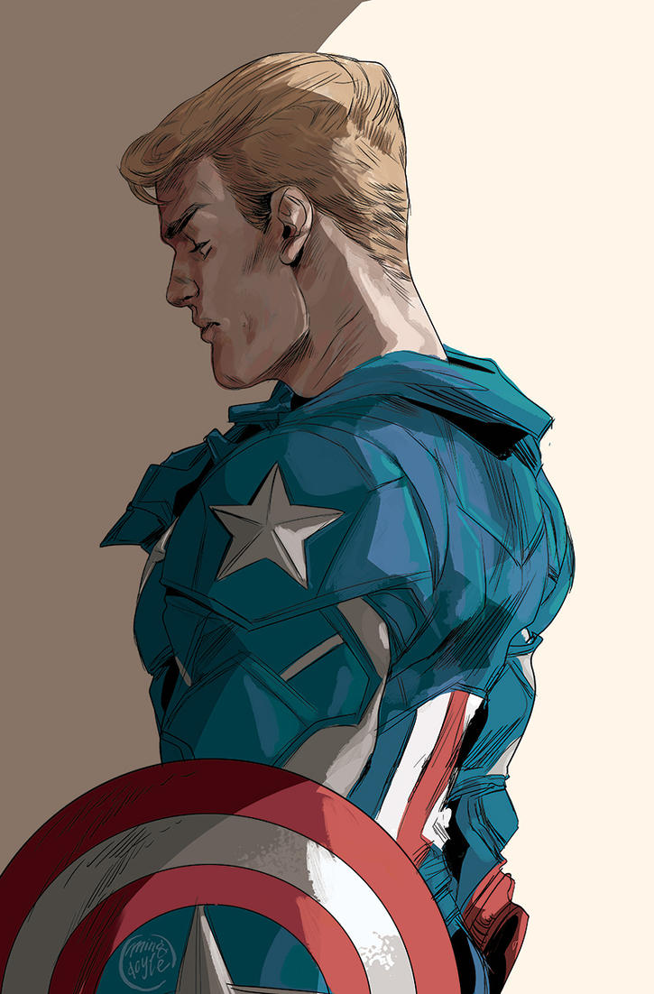 Steve Rogers by mysteryming