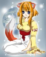 Firefox-Tan by SpookyRuthy