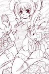 Happy Easter lineart