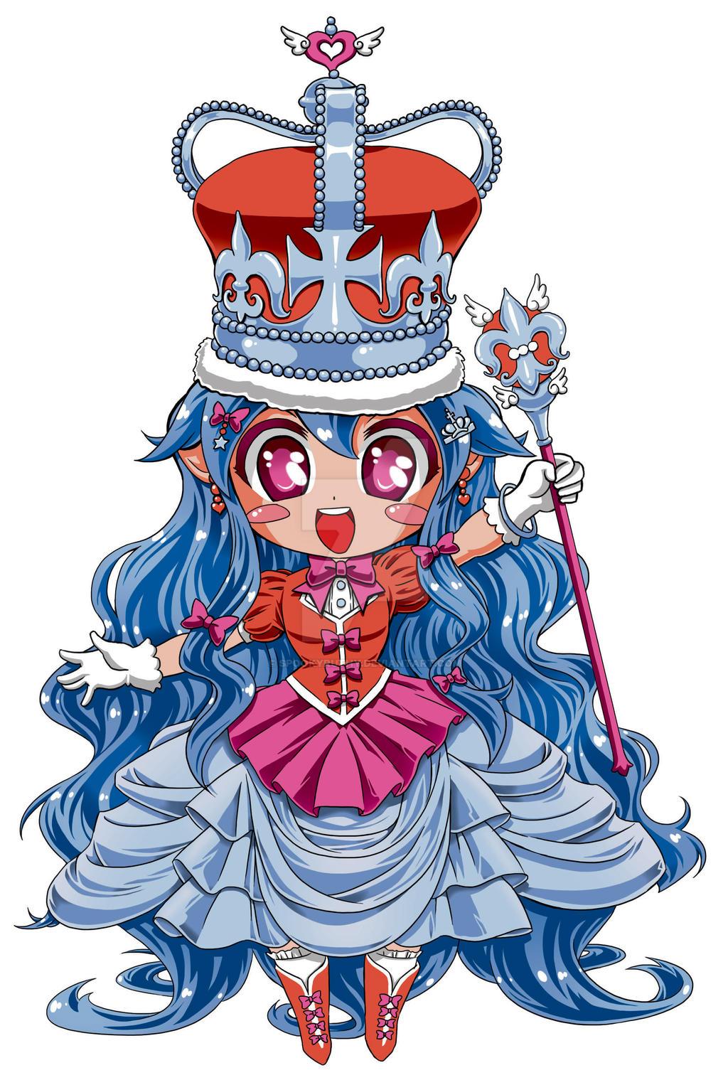 Chibi Queenie by SpookyRuthy