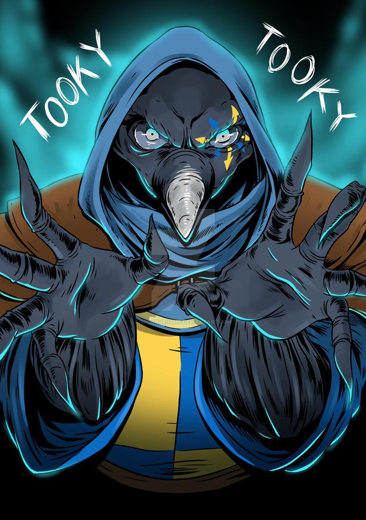 TOOKY TOOKY by SpookyRuthy