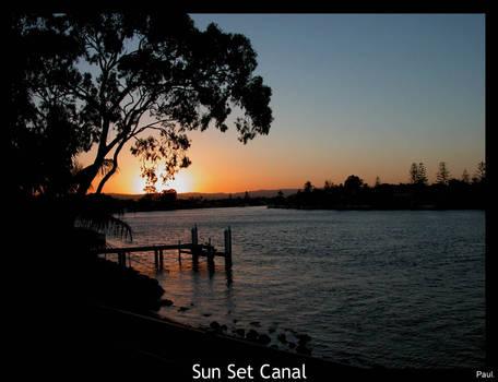Sun Set Canal