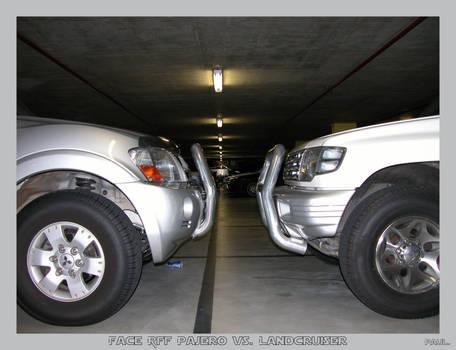 Face Off Pajero vs Landcruiser