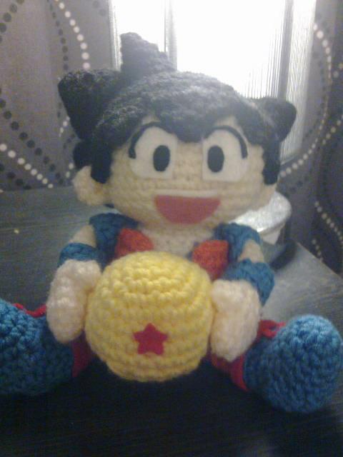 Amigurumi Dragon Ball Goku : Goku Amigurumi by nasikatok on DeviantArt