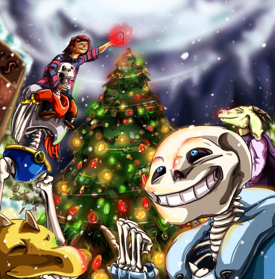Undertale Christmas.Undertale Christmas Joy By Sophie Dragon On Deviantart