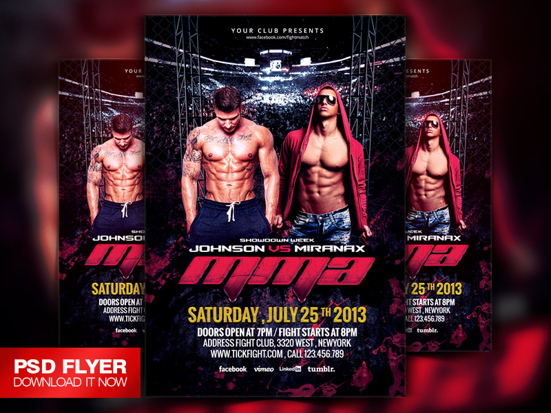 miranax – Ufc Flyer Template