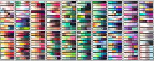 Color pallettes (F2U) by SpokenUnsteady