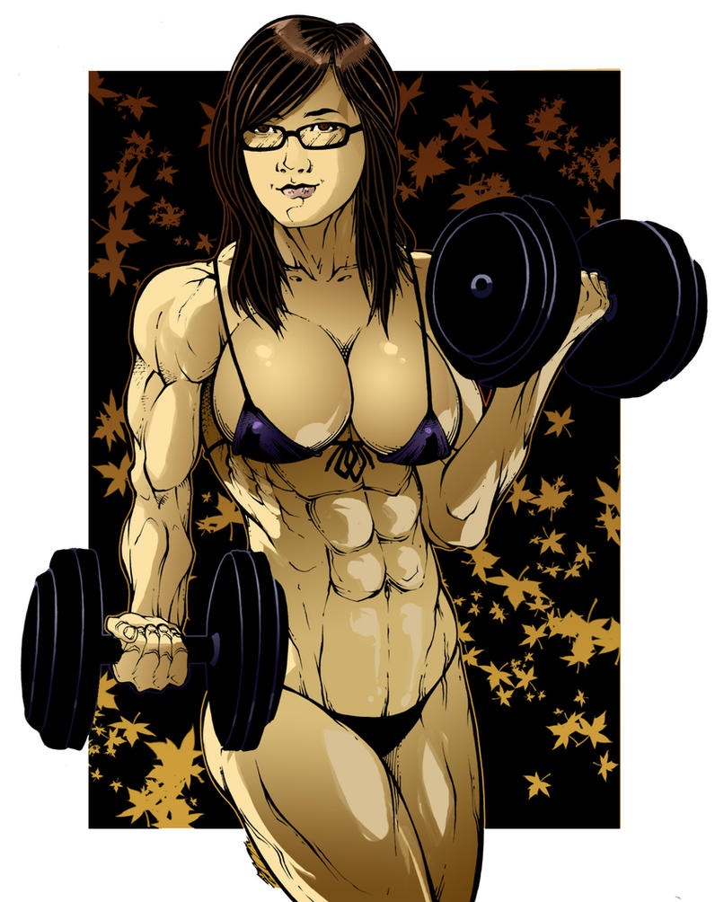 Muscle women anime nackt images