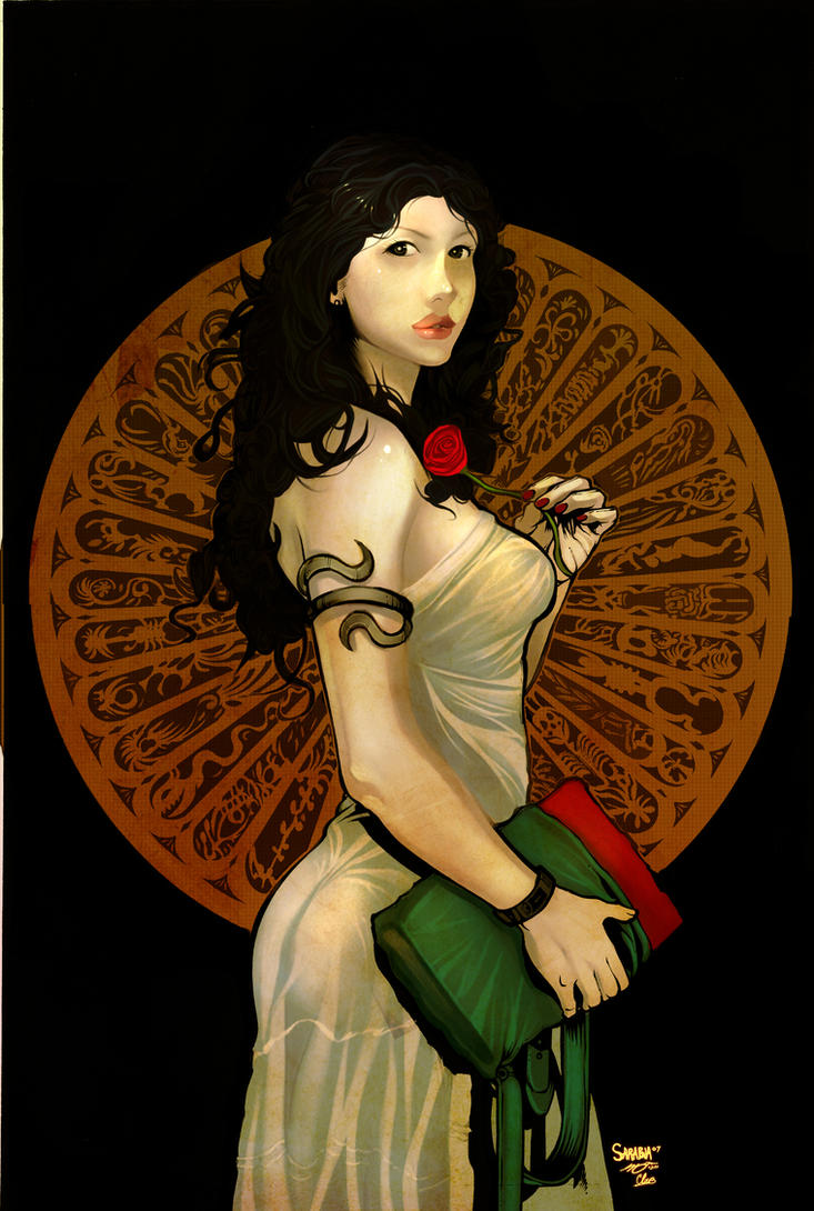 clio and the rose of the time by el-diablero
