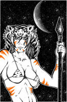 tiger lady by el-diablero