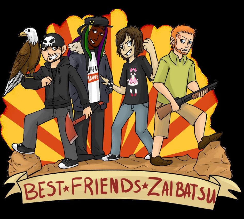 Best Friends Zaibatsu Quotes : Best friends zaibatsu by magemina on deviantart