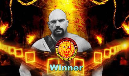NJPW Winning Card from 2018 by Ronthereddragon