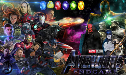 Marvels endgame Poster made by Ronthereddragon by Ronthereddragon