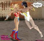 Ultra Woman vs Starro Venus