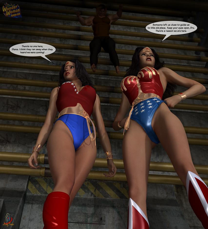 Wonder Woman, Season Four:  Return of Blockbuster by ladytania