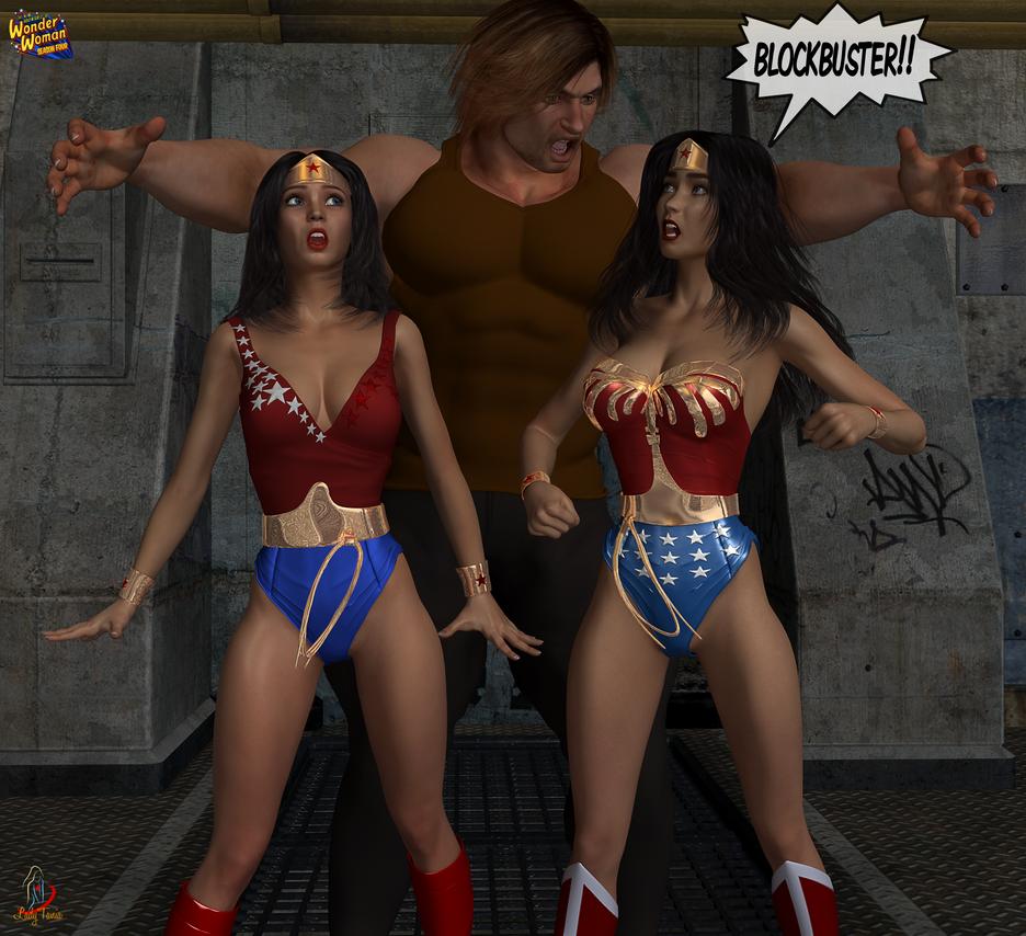 Wonder Woman, Season Four: Return of Blockbuster 2 by ladytania