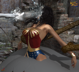 Wonder Woman, Season Four: Alien Attack 2 by ladytania