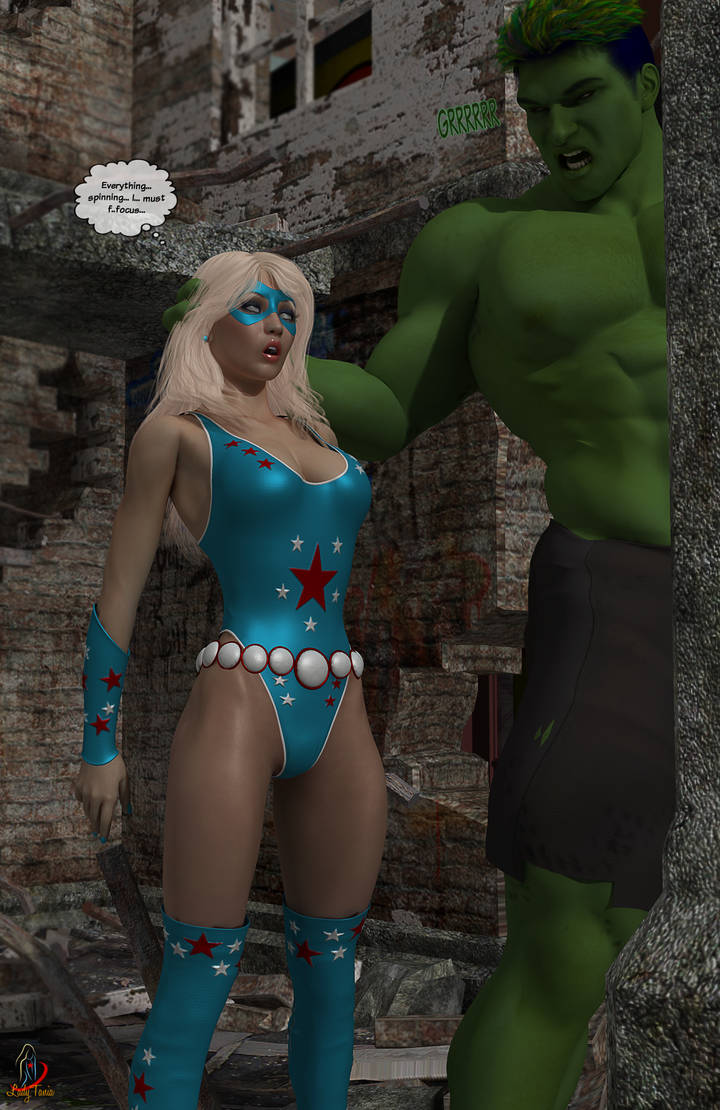 Lady Liberty and the Green Giant 9 by ladytania