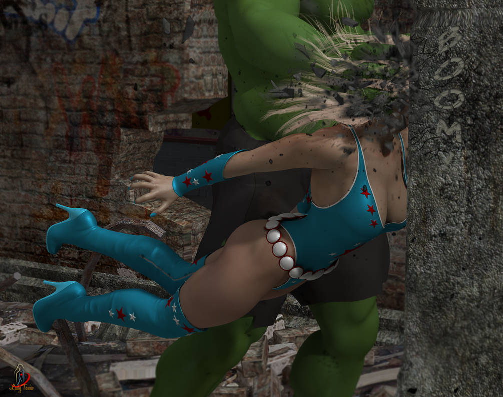 Lady Liberty and the Green Giant 10 by ladytania