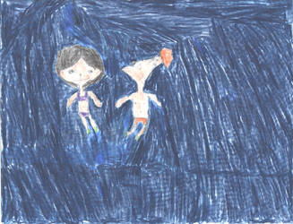 Underwater Phinabella Fun