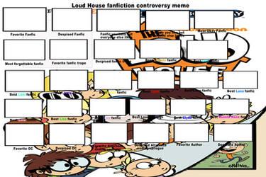 Loud House Fic Controversy Meme