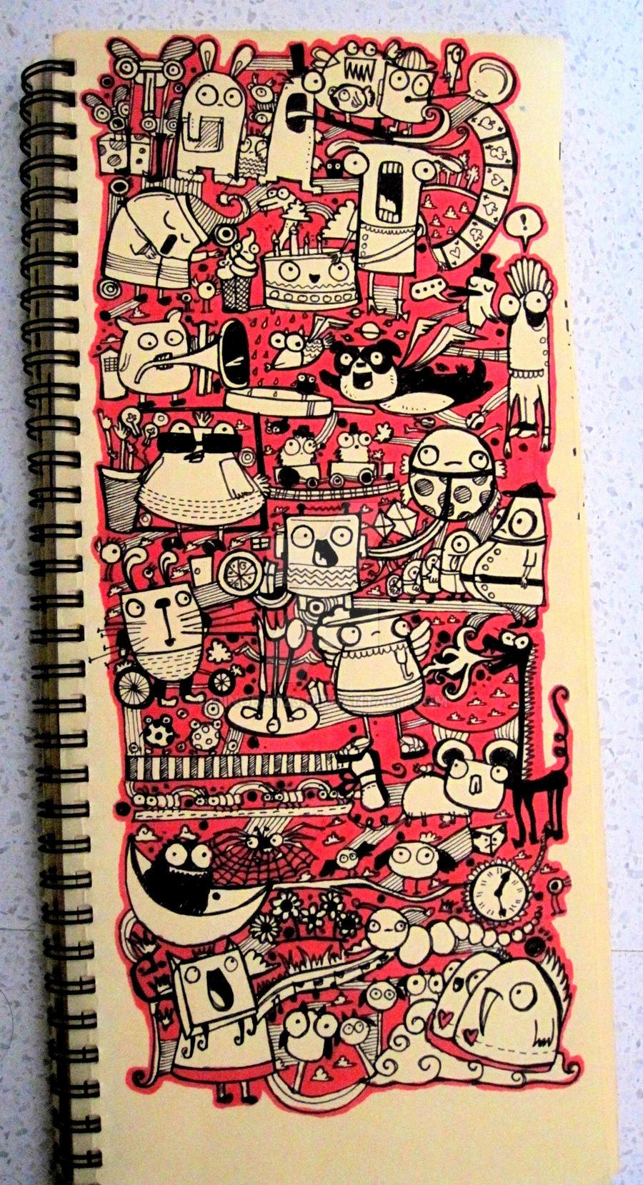 Doodle-3 by dingbat23